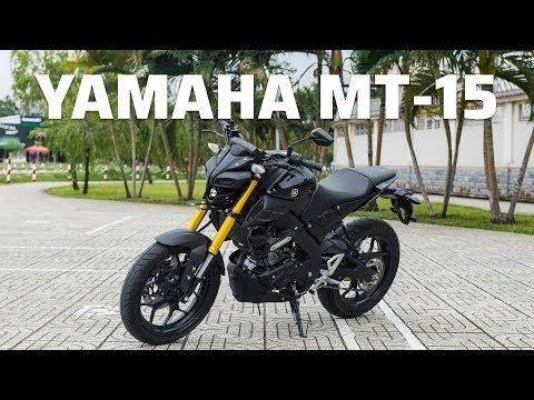Trên tay Yamaha MT-15 2019