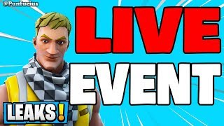 🔴 FORTNITE EVENT COUNTDOWN ICE KING LIVE