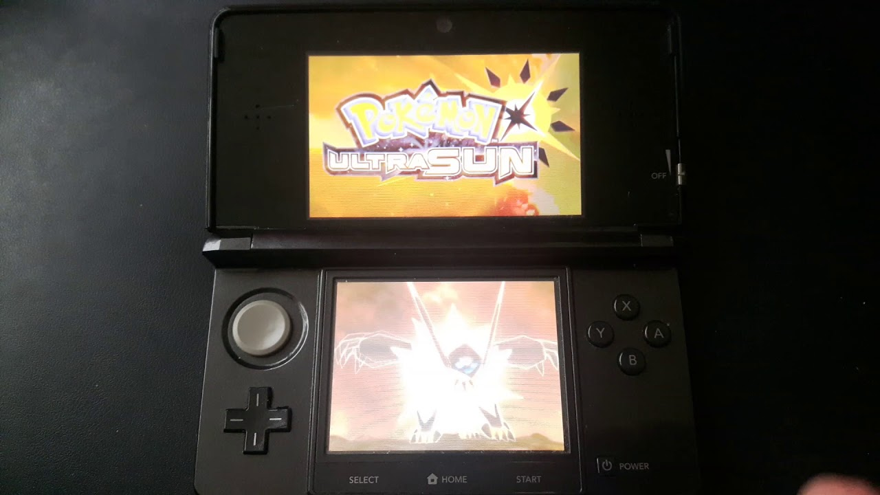 Nintendo Ds Rom Ultra Sun