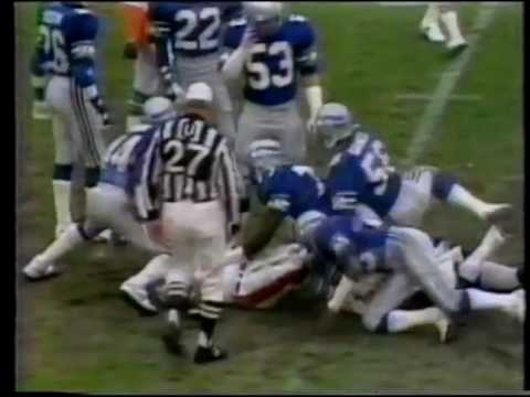 Seattle Seahawks vs Miami Dolphins 1983 Playoff Game