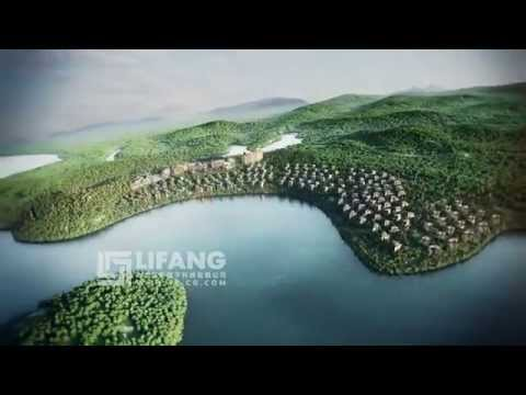 HD Landscape Architecture focussed Luxury Property Development fly-through