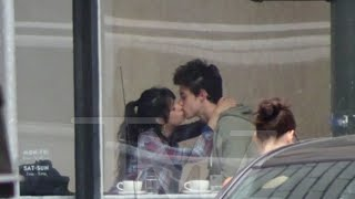 Shawn Mendes And Camila Cabello Kissing In Cafe In San Francisco
