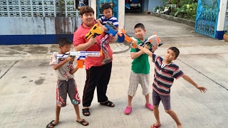 Nerf War(Sinchai2549 & LodChongTvZ Ch)Round 1(Thai/ไทย)