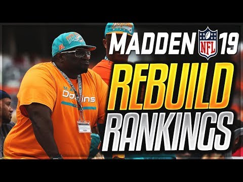 What Are The Best Teams To Rebuild In Madden 19? | Ranking All 32 Teams
