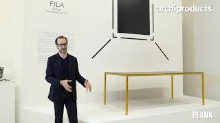 Salone del Mobile 2019 | PLANK - Kostantin Grcic presents Fila and Cup
