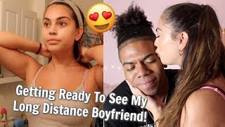 GRWM: Seeing My Long Distance Boyfriend!❤️