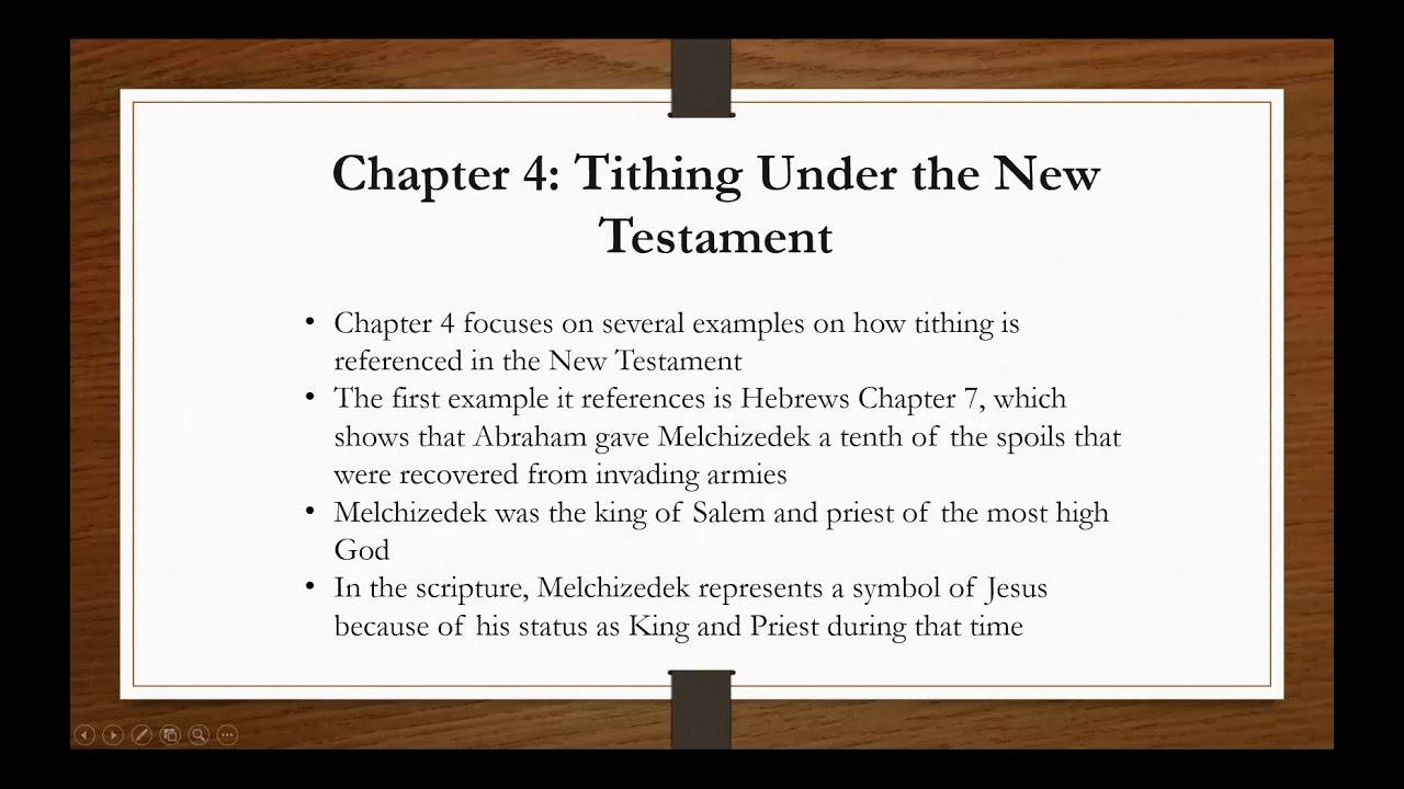 2021_0610 PWAM Bible Study: New Testament Tithes