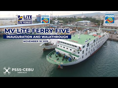 SHIP WALKTHROUGH   M/V Lite Ferry Five of Lite Shipping Corporation - Lite Ferries