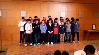 レイエスの会U-13恒例行事。卒団生を送る合唱『遥か』