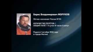 Космонавт Борис Моруков