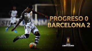 Progreso vs. Barcelona [0-2] | GOLES | CONMEBOL Libertadores 2020