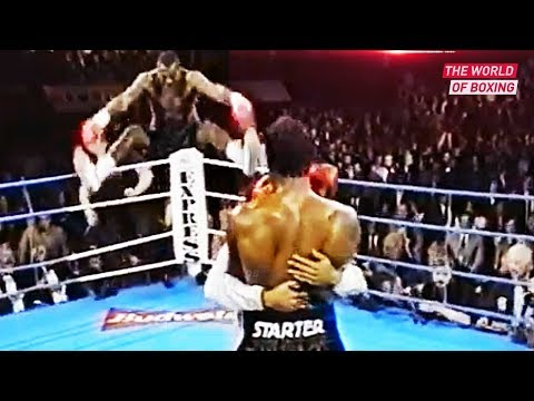 The Brutal Confrontation - Lennox Lewis And Oliver Mccall