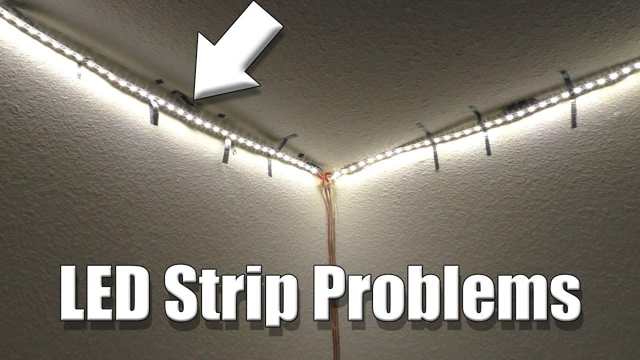 Room Led Strip Lighting Update Youtube