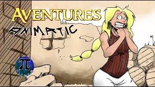 Le bouclier et la fillette. -Aventure - Bazar du grenier - animatic/storyboard