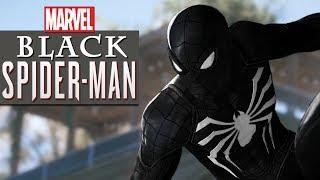 Black Spiderman 4K Black Cat Ending | Superhero Movies FXL All Cutscenes (Game Movie)