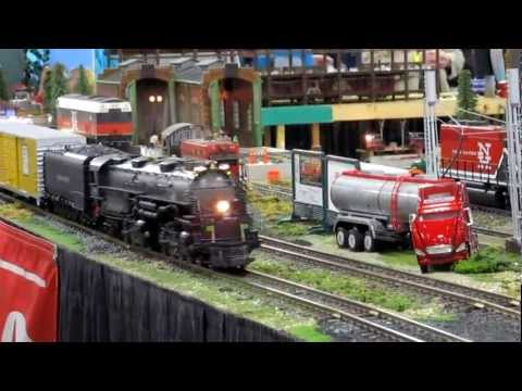 Amherst Model Hobby Train Show 2012