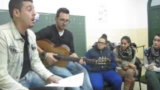 Presentacion del Pasodoble de Oyeme por Faly Pastrana (Octubre 2013)