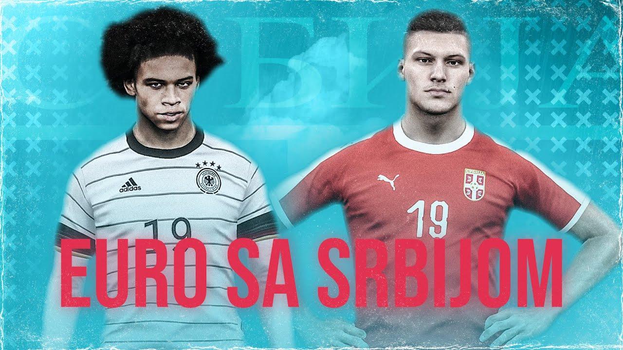 1/4 FINALE EVROPSKOG PRVENSTVA! - EVROPSKO PRVENSTVO SA SRBIJOM #5 - PES EURO 2020 MODE