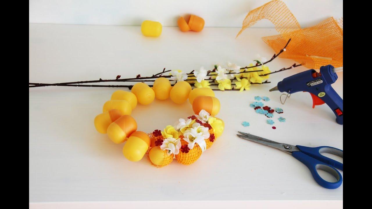 Поделки яйца от киндера своими руками фото