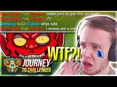 I GET FLAMED SO F*KING HARD WTF?! - Journey To Challenger | League of Legends