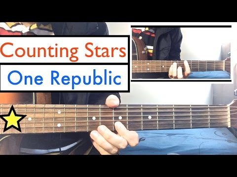One Republic - Counting Stars | Guitar Tutorial Lesson - YouTube