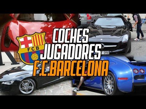 AUTOS DE LOS JUGADORES DEL F.C.BARCELONA | WHATTHECAR