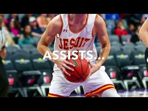 "Chris Simpson 6'6"" 195, Jesuit HS, Sacramento, CA 2018 (Updated 4/10/18)"