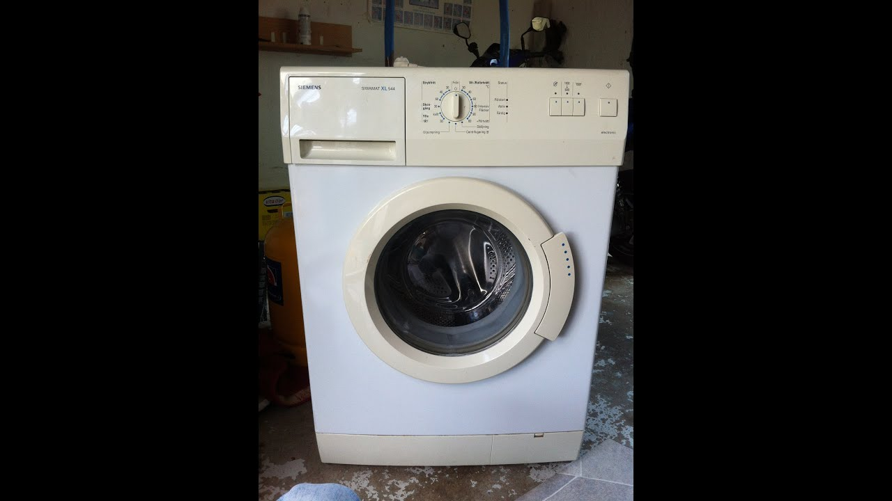 Washer for repair and cleaning - Siemens Siwamat XL 544 ...