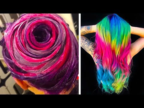 SURPRISING COLORFUL HAIR TRANSFORMATIONS THAT YOU'LL LOVE