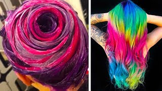 SURPRISING COLORFUL HAIR TRANSFORMATIONS THAT YOU