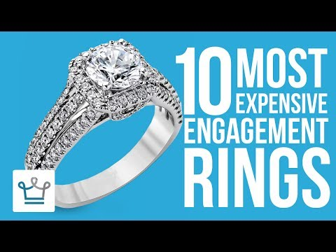 Top 10 Most Expensive Engagement Rings In The World review