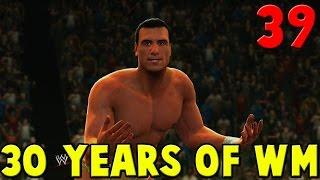 WWE 2K14 30 Years Of WrestleMania Walkthrough Part 39 - Edge vs Alberto Del Rio