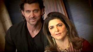 Hrithik shoots with his mom!