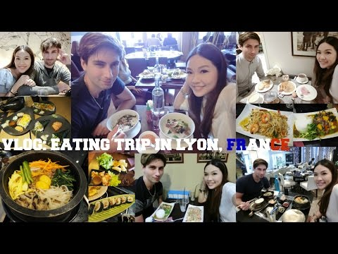 VLOG: EATING TRIP IN LYON, FRANCE♥ | ANGELBIRDBB