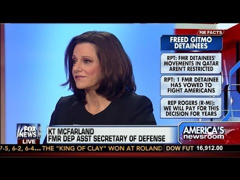 "KT McFarland: ""We should place drones on each Taliban detainee exchanged"""