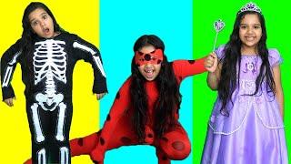 تعليم تركيب الأشكال مع شفا! !wrong superheroes puzzle
