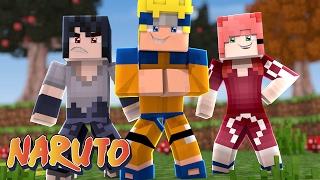 Minecraft : Naruto C #1 - Naruto, Sasuke e Sakura