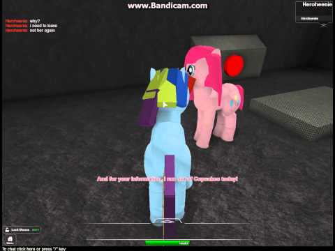 Roblox my little pony horror games