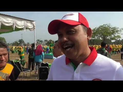 Kader Fatayat PC Purworejo Rilis Senam Fatayat