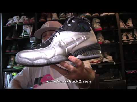 official photos 3a747 29cfa Nike Air Penny 1 2 Cent Metallic Silver Black SneakGeekZ  89 - YouTube