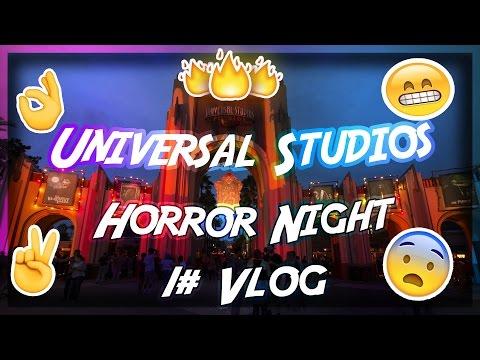 Universal Studios Horror Night #1 Vlog