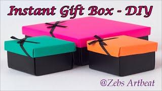 Gift Box DIY