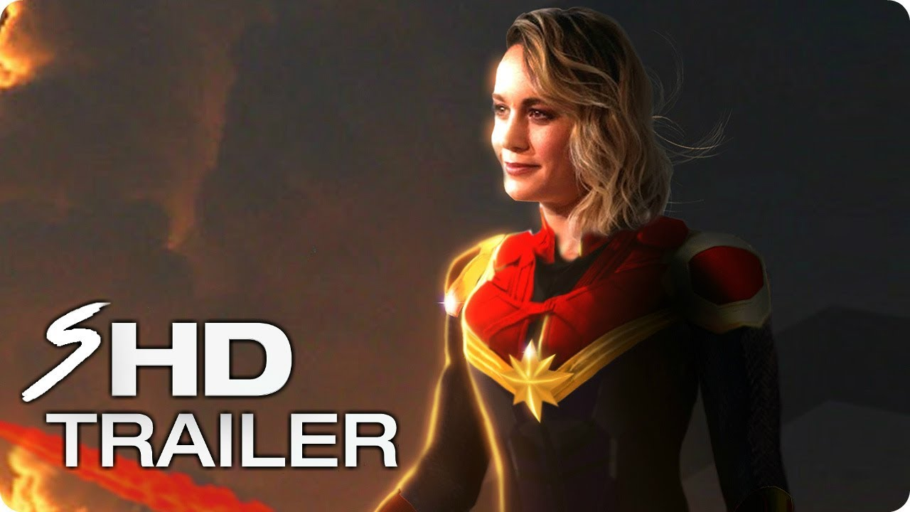Captain Marvel 2019 First Look Trailer Concept Brie Larson Marvel Movie Hd