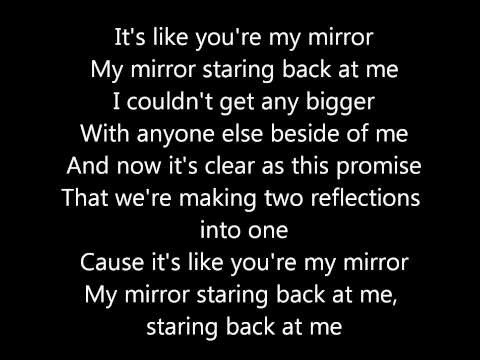 Our Last Night- Mirrors ( Justin Timberlake) lyrics