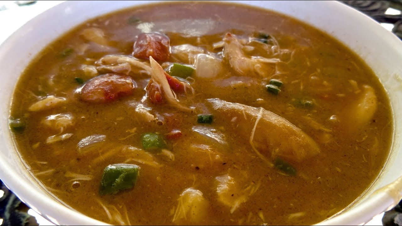 Lazy Mans Chicken and Sausage Gumbo Recipe for Mardi Gras ...