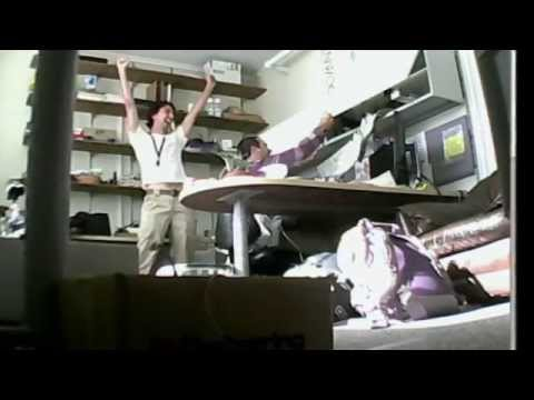 Return from Afghanistan: Office Prank