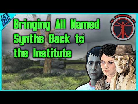 Fallout 4 | Bringing Every Named Synth Back to the Institute