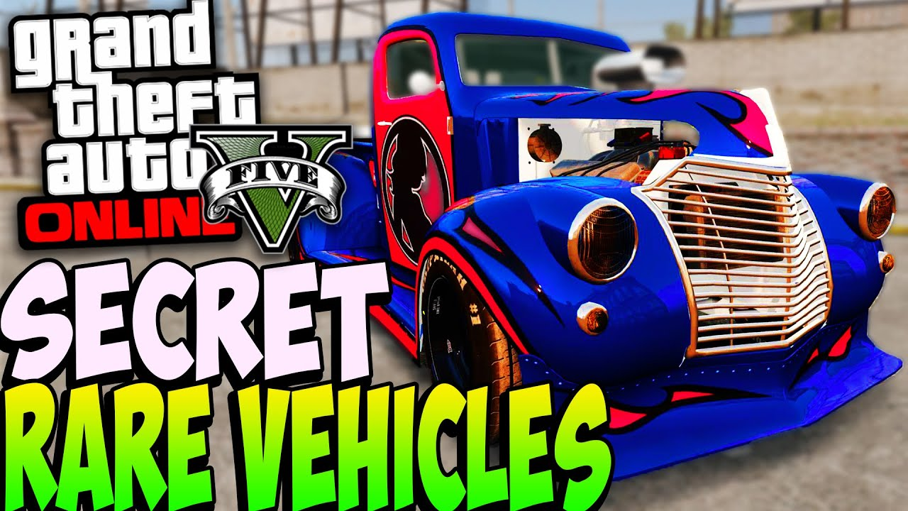 Gta 5 Secret Rare Cars Online After Patch 1 22 Secret Rare