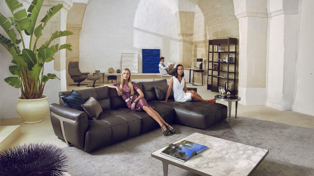 Natuzzi sofas  HERMAN Natuzzi Italia sofa  unitedforharmony  YouTube