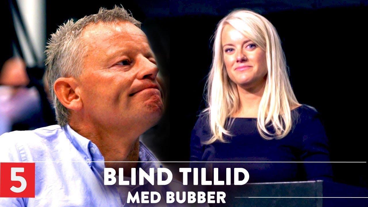 Ærlige Bubber: Du er uhyggelig, Pernille | Blind tillid med Bubber | Kanal 5